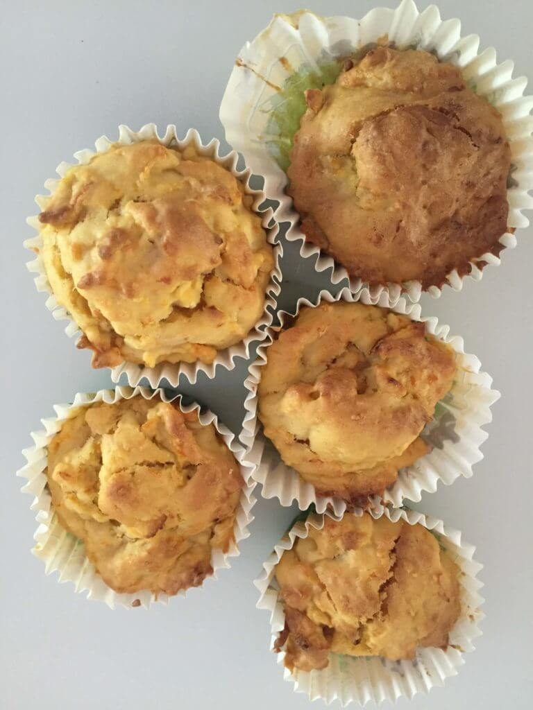 Apfel-Karotten Muffins